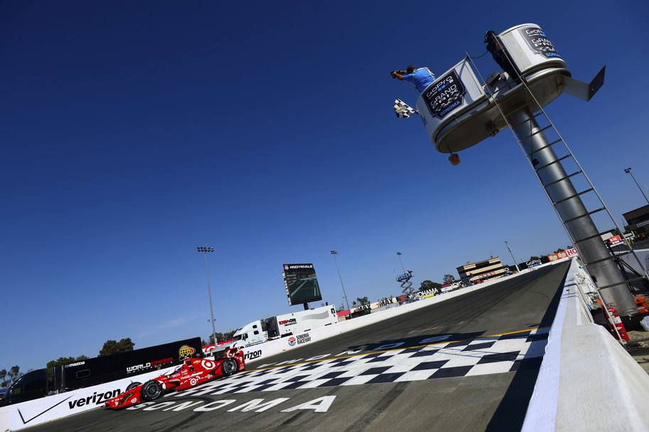 Campionato IndyCar in California (Afp)