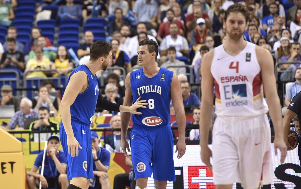Gallinari e Bargnani. Ciam/Cast