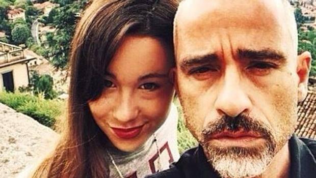 Con la figlia Aurora su Instagram