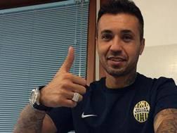 Il centrocampista brasiliano Matuzalém, 35 anni