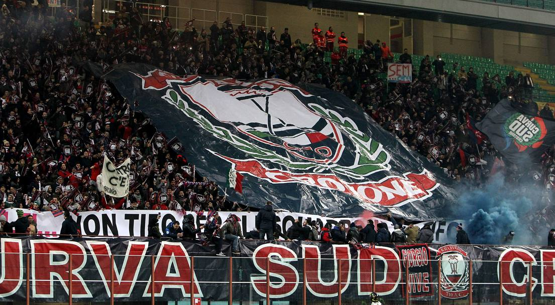 I tifosi del Crotone. Getty Images