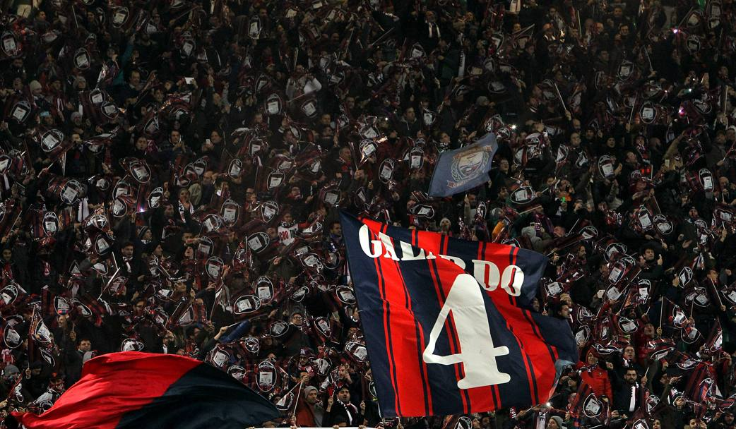 La curva del Crotone. Getty Images