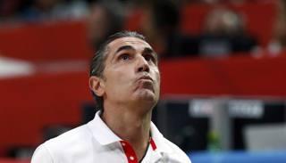 Sergio Scariolo, 54 anni, bresciano, 2 ori Europei con la Spagna. Reuters