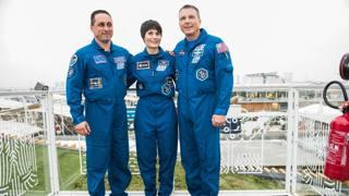 Expo, AstroSamantha racconta agli studenti la missione nello spazio