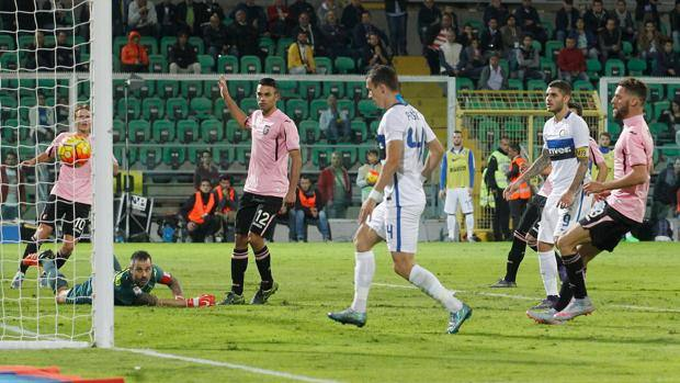 Ivan Perisic segna il gol dell'1-0. Getty