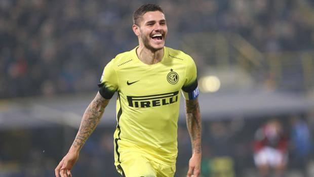 Mauro Icardi esulta dopo il gol partita. Ansa