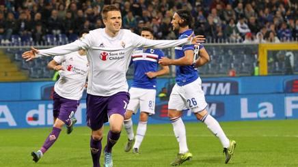 Josip Ilicic, al quarto gol in questo campionato. LaPresse