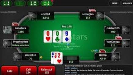 Una partita dell'Italian Championship Of Online Poker
