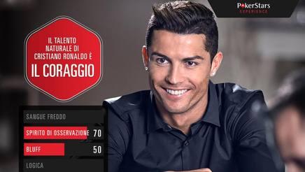 Cristiano Ronaldo è uno dei testimonial Pokerstars.