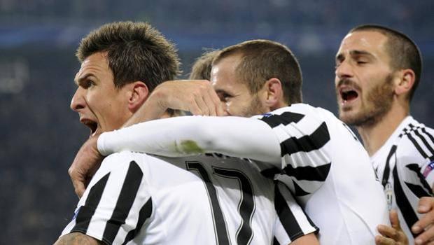 L'urlo di Mario Mandzukic dopo il gol. Reuters