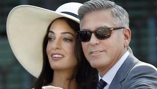 Amal Clooney incinta al terzo mese: George avrà un erede