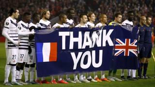 Dal Bordeaux un grazie all'Inghilterra