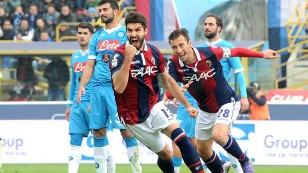 Luca Rossettini esulta dopo il 2-0. LaPresse