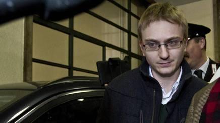 Alberto Stasi, condannato a 16 anni per l'omicidio di Chiara Poggi. Lapresse