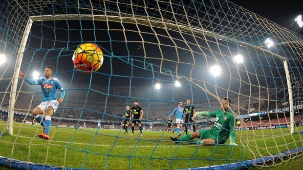 L'1-0 di El Kaddouri. Getty Images