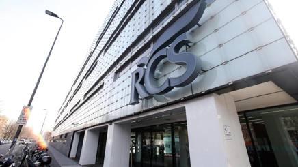 La sede di Rcs in via Rizzoli, a Milano. Ansa