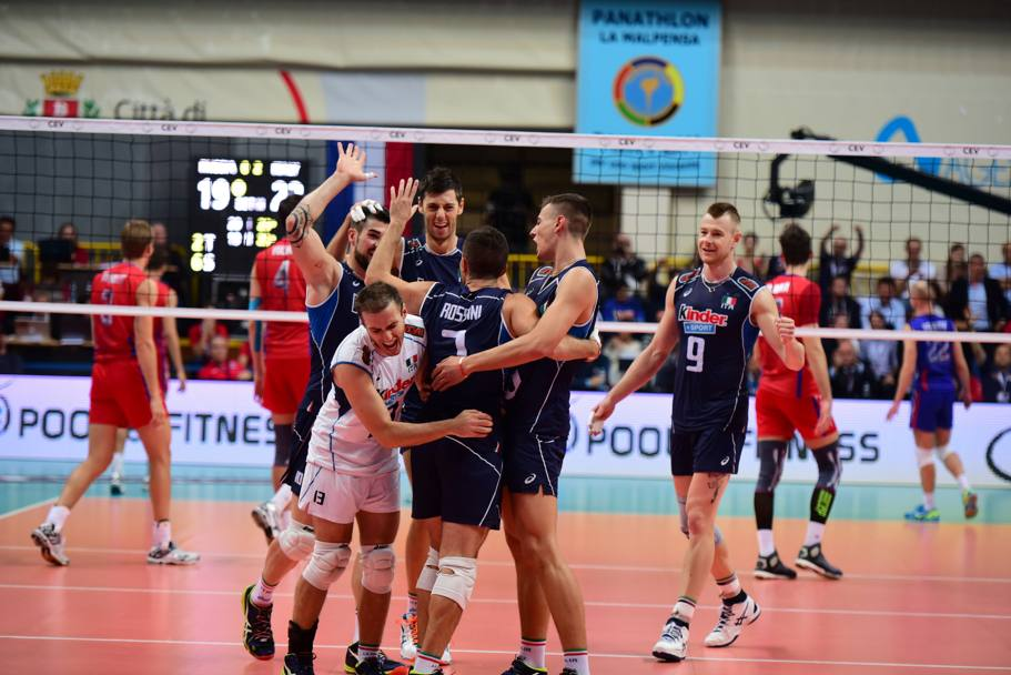 L'Italvolley di Blengini va forte: conquista il bronzo all'Europeo in Bulgaria. LaPresse