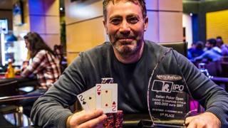 Il vincitore dell'ultima edizione dell'Ipo,  Armando Di Giorgio