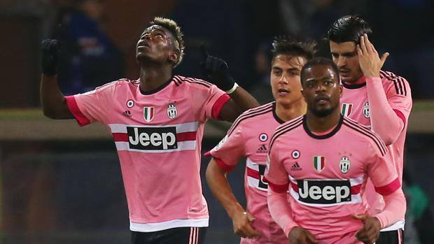 Pogba e la Juve guardano in alto. Afp