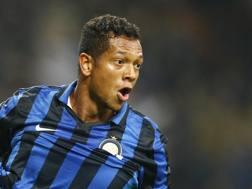 Fredy Guarin, 29 anni, centrocampista colombiano dell'Inter. LaPresse