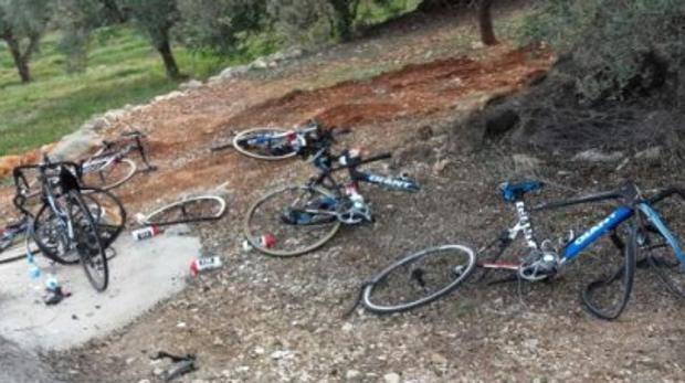 Giant Alpecin Car Crash