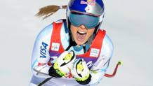 Lyndsey Vonn, 31 anni, � a 11 successi dal record assoluto di Stenmark. Getty Images