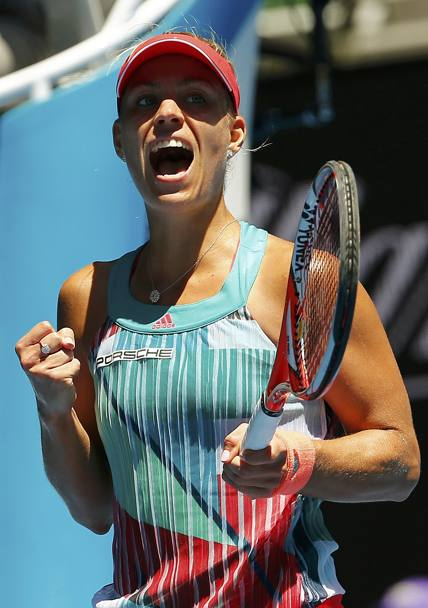 Angelique Kerber. (Reuters)