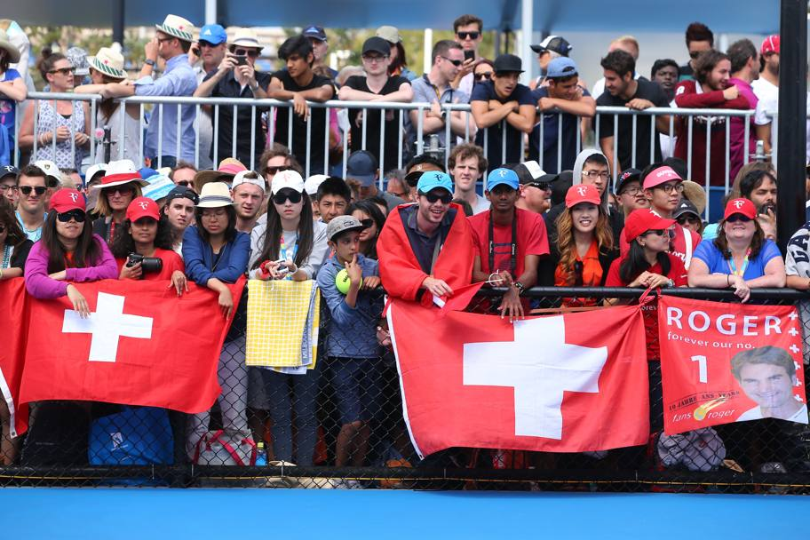 Fans di Roger Federer. (Getty Images)