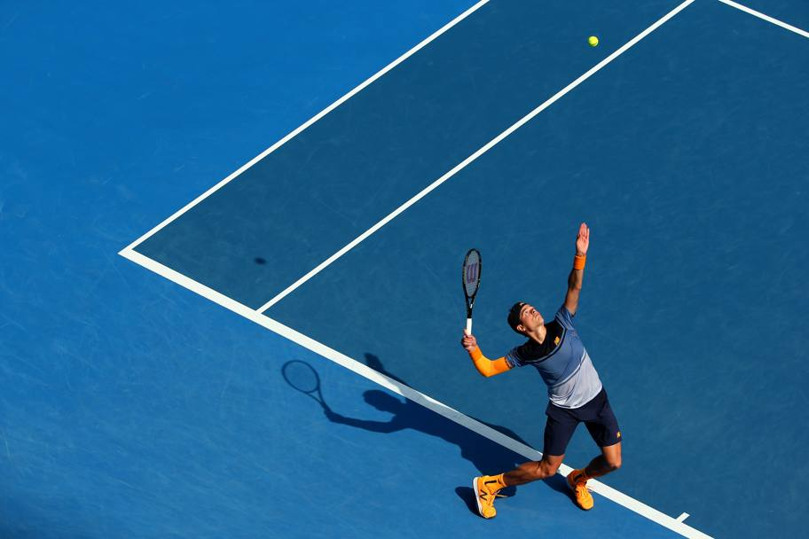 Milos Raonic. (Getty Images)