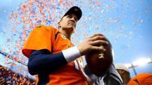 Peyton Manning, 40 anni a marzo, pu� vincere il secondo Super Bowl. Reuters