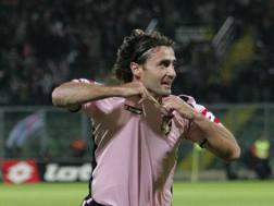 Giovanni Tedesco, al Palermo dal 2006 al 2010. LaPresse