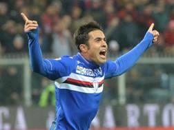 Eder, 29 anni, attaccante della Sampdoria e della Nazionale. Ansa