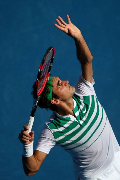 Roger Federer. (Getty Images)