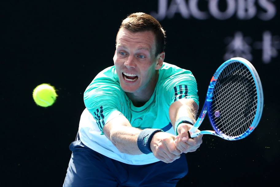 Tomas Berdych. (Getty Images)