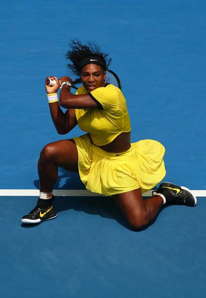 Serena Williams. (Getty Images)