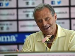 Maurizio Zamparini, presidente del Palermo. Getty