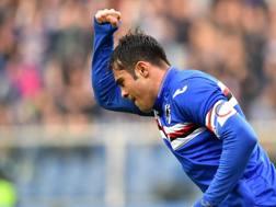 Eder, attaccante della Sampdoria corteggiato dall'Inter. Ansa