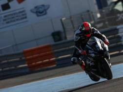 Tom Sykes in azione nei test di Jerez