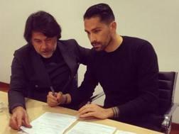 Borriello firma per l'Atalanta