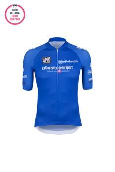La maglia azzurra del leader della classifica degli scalatori