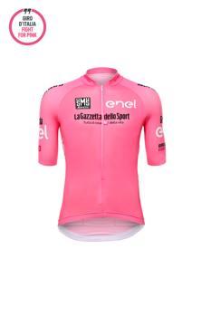 La maglia rosa del leader della classifica generale