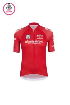 La maglia rossa del leader della classifica a punti