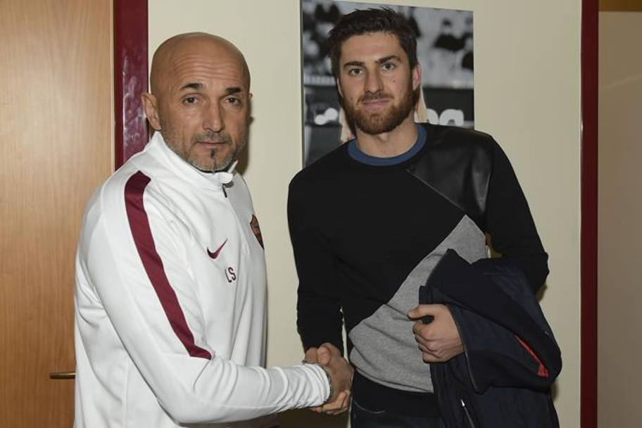 Il nuovo difensore con Luciano Spalletti. Getty Images