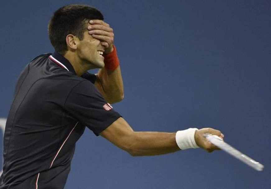 Nei quarti di Flushing Meadows 2014, Djokovic vince 7-6 (1) 6-7 (1) 6-2 6-4