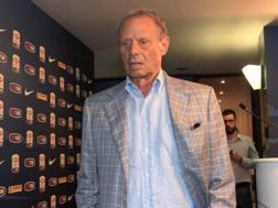 Maurizio Zamparini, 74 anni, presidente del Palermo dal 2002. Ansa
