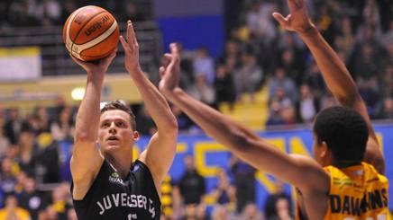 Viktor Gaddefors, 23 anni, in Italia ha giocato con le maglie di Virtus Bologna, Avellino, Mantova e Caserta CIAMILLO