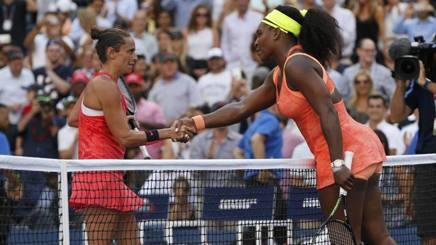 Roberta Vinci e Serena Williams allo Us Open