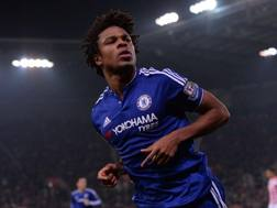 Lo�c R�my, 29 anni, attaccante francese del Chelsea, 16 presenze e 3 gol in questa stagione con i Blues. Afp