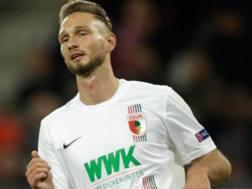 Tim Matavz, 27 anni, attaccante sloveno. Getty