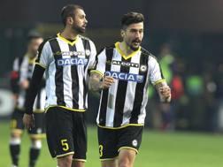 Panagiotis Kone, 28 anni, centrocampista greco, all'Udinese dall'estate 2014. Ansa